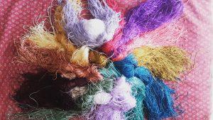 الیاف مورد استفاده در نساجی سنتی ، ابریشم طبیعی